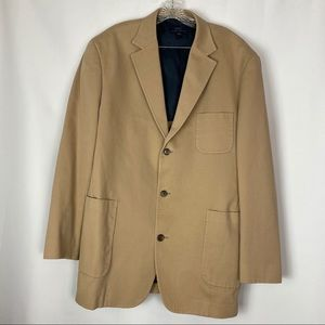 Brooks Brothers Camel Summer Blazer, Sz XXL